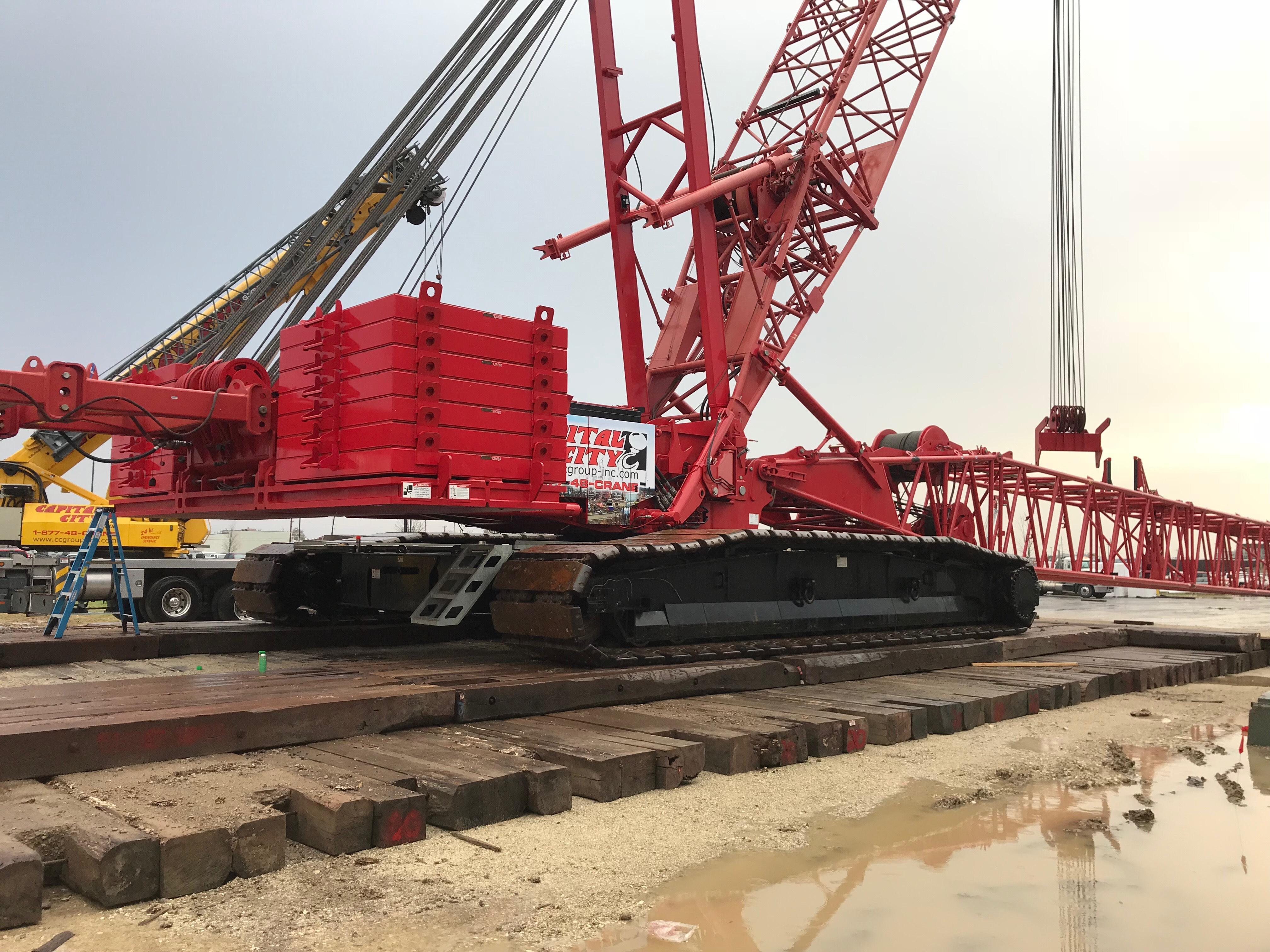 Capital City Group - Ohio Crane Rental Service Up to 825 Tons